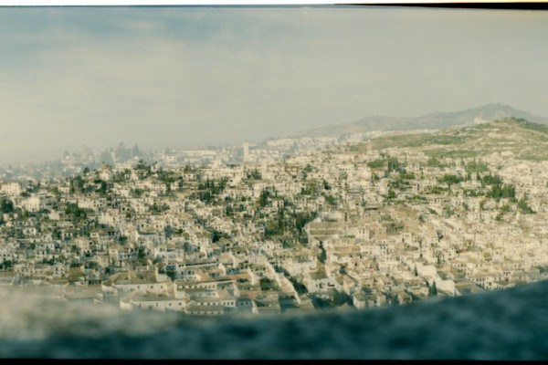 Le quartier de l'Albaicin vu depuis l'Alhambra.