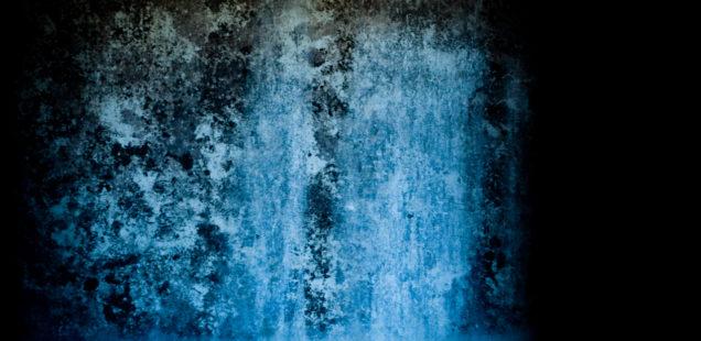 [une image] Bleu froid, hiver